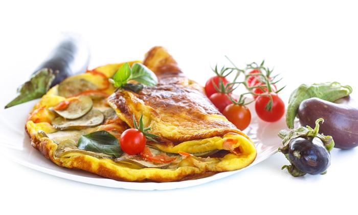aubergine omelet
