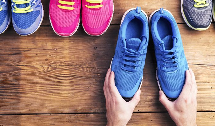Choosing the right shoes for walking