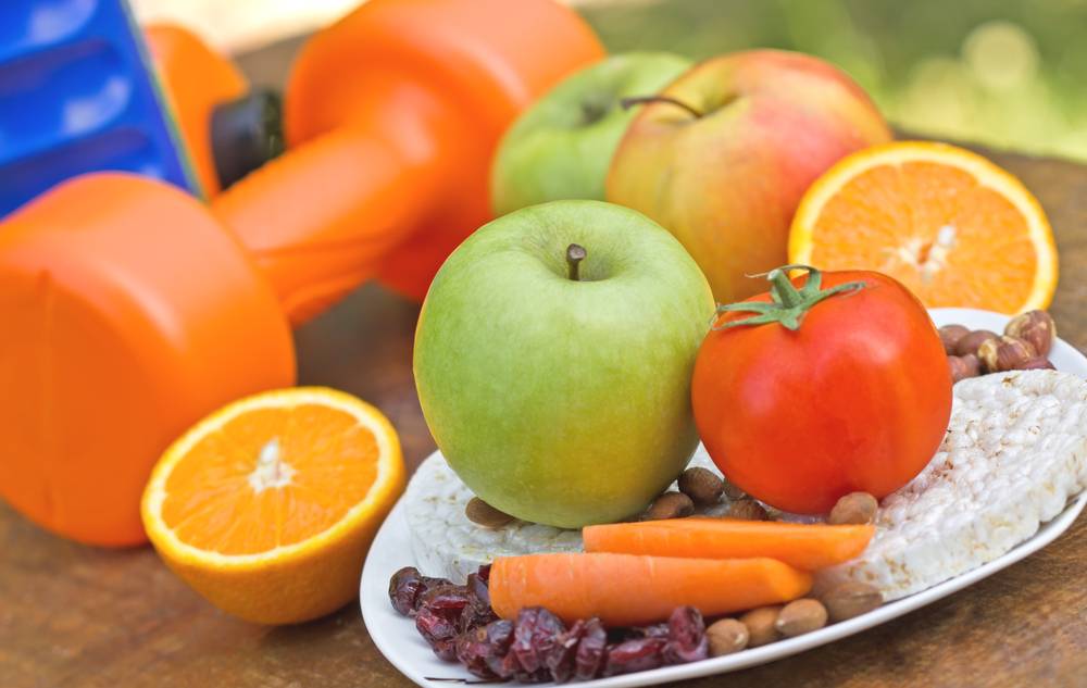 good nutrition with physical activity