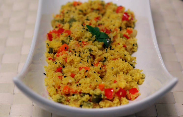 Couscous of vegetables