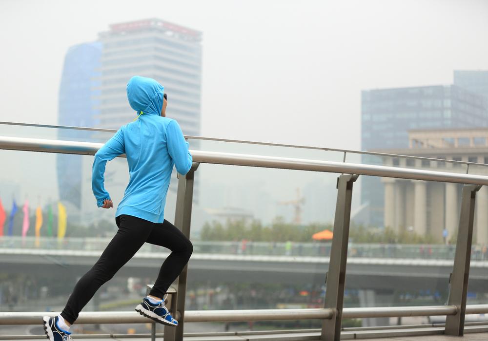 La contaminación y el ejercicio al aire libre