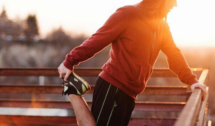 entrenar antes de acostarse
