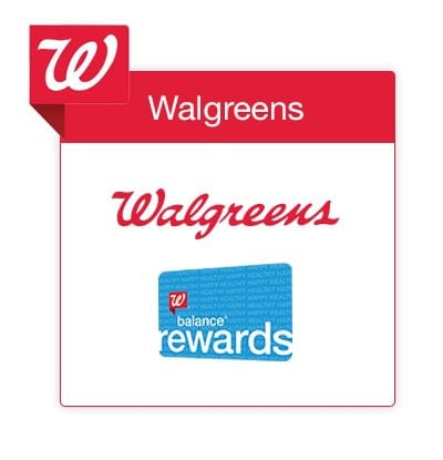 Reward points - Save with Walgreens